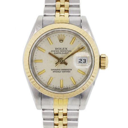 Rolex 69173 Datejust Oyster Perpetual Two Tone Ladies Watch