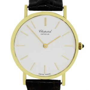 Chopard leather watch