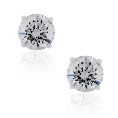 6.01 Diamond Stud Earrings