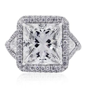 GIA Certified engagement ring