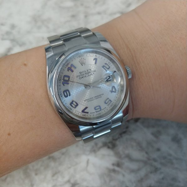 Rolex 116200 Datejust Oyster Perpetual Stainless Steel Watch