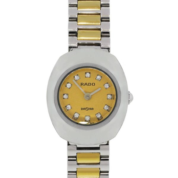 Rado 963.0558.3 Diastar Two Tone Diamond Dial Ladies Watch
