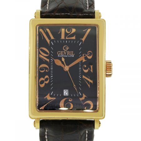 Gevril 18k Yellow Gold 5101 Avenue of Americas Limited Edition Watch