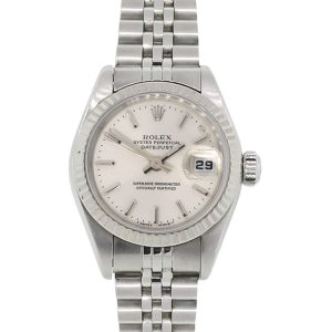 Rolex 69174 Datejust Silver Dial Stainless Steel Ladies Watch