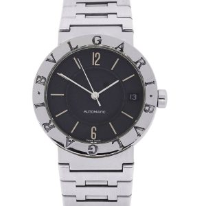 Bulgari BB 33 SSD Automatic Stainless Steel Black Dial Watch