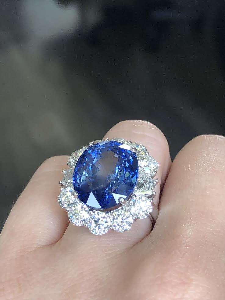 Diamond and Sapphire Ring: Get Kate Middleton's Look!