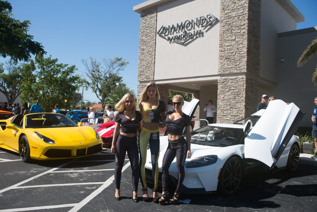 Diamonds and Donuts - car show boca raton