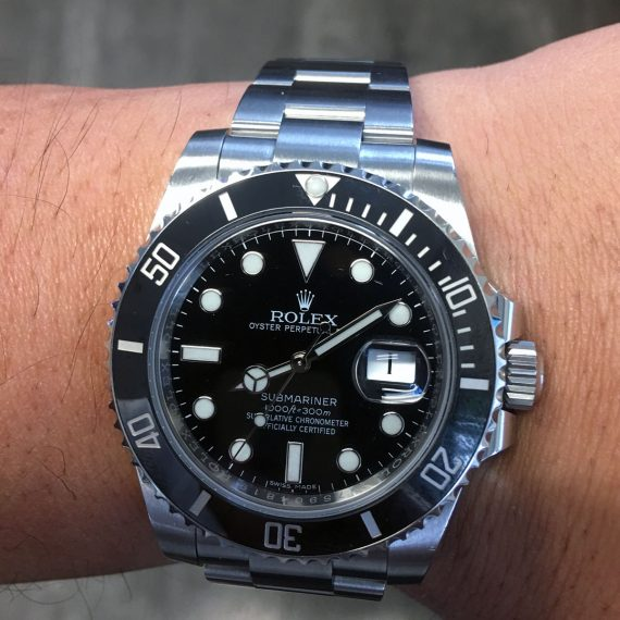 Why You're Sure to Love the Rolex 116610LN Submariner Black Dial Stainless Steel Watch