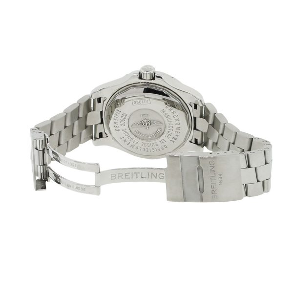 stainless steel breitling