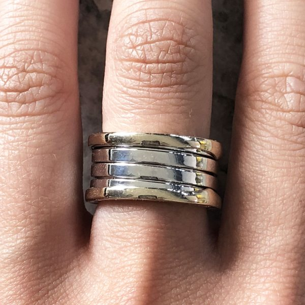 Two Tone Gold Ring