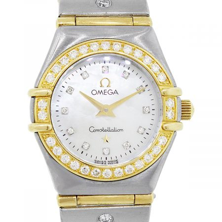 Omega Constellation Two Tone Mother of Pearl Mini Ladies Watch