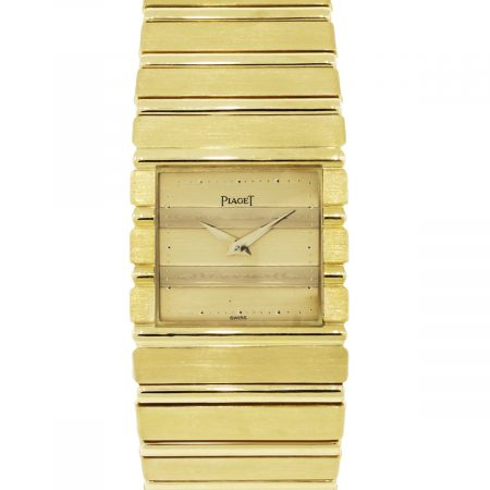 Piaget 7131 Polo 18k Yellow Gold Gents Watch