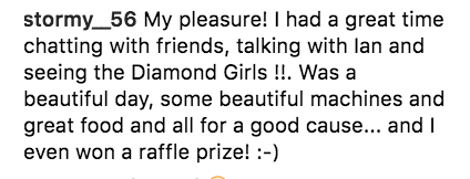 review on diamonds and donuts car show