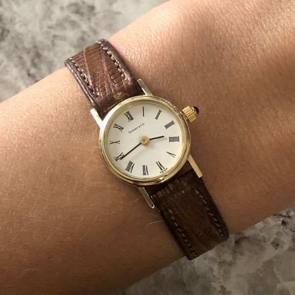 Tiffany & Co. Leather Ladies Watch