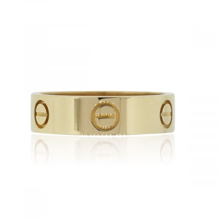 Cartier 18k Yellow Gold LOVE Size 56 Ring