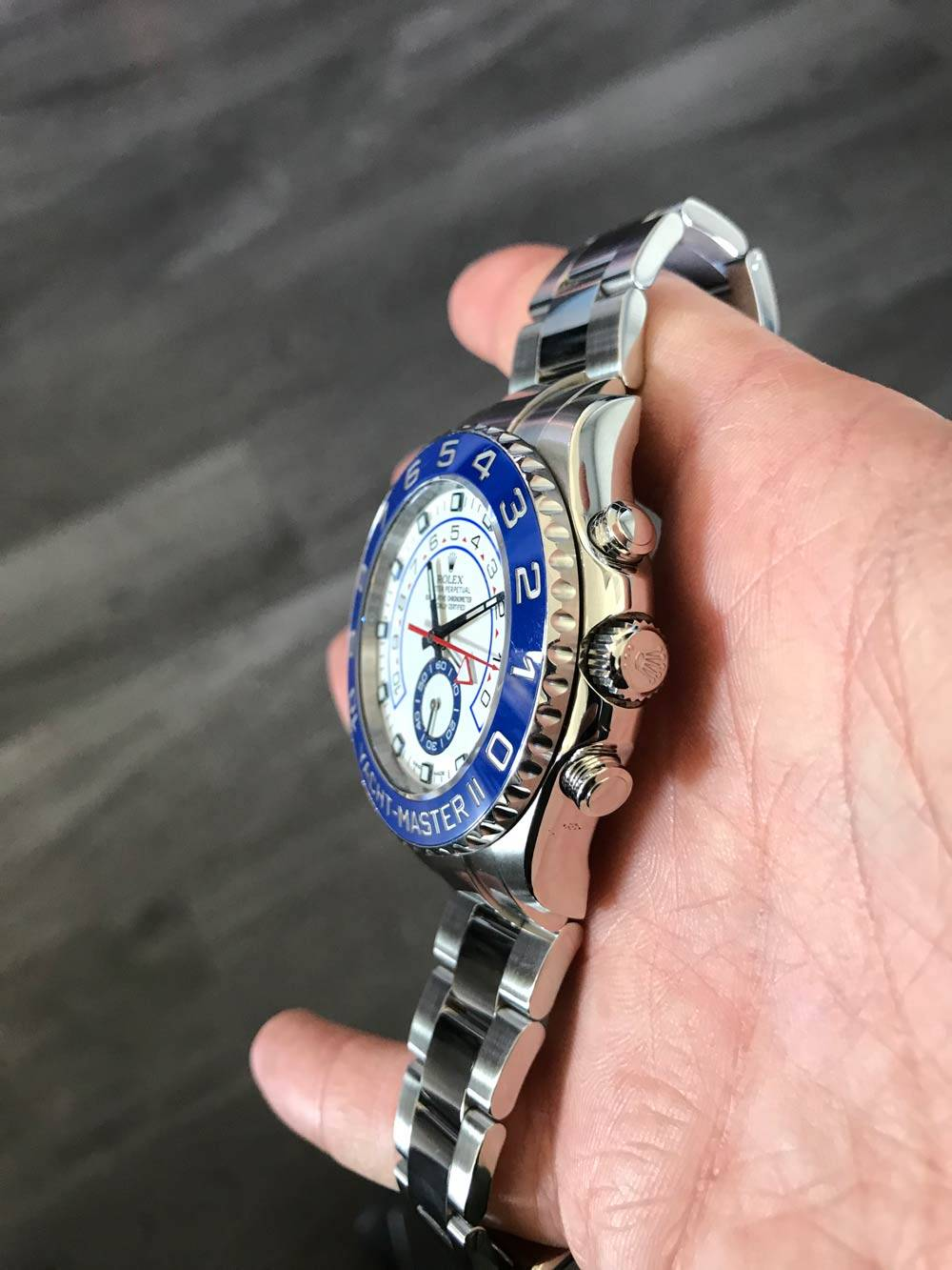 rolex yacht master ii specifications
