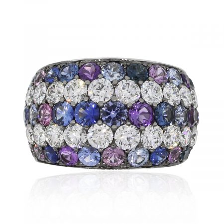 diamond gemstone band