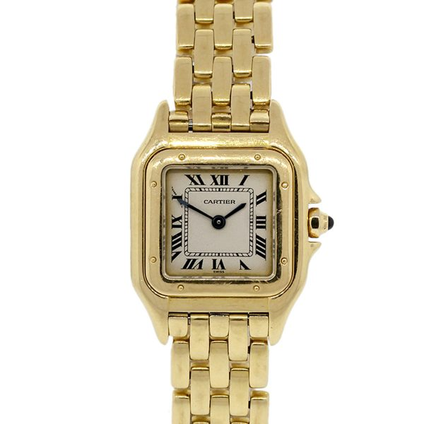 Cartier Panthere 18k Yellow Gold Small Size Ladies Watch