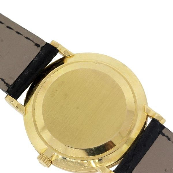 18k yellow gold watch