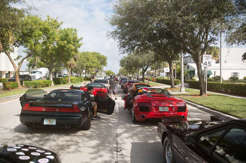 cars and coffee miami