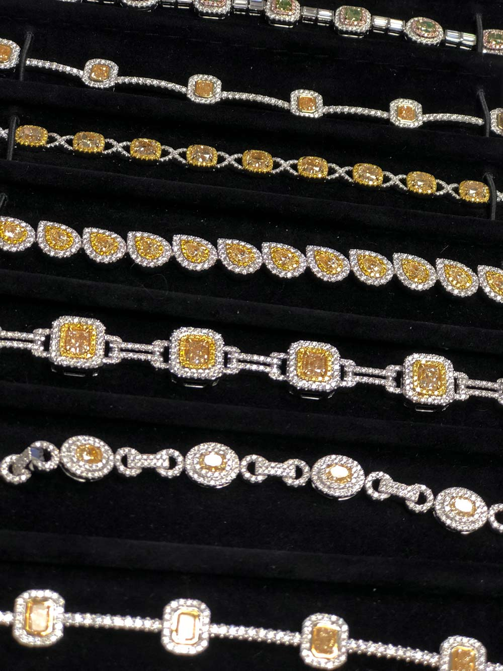 diamonds by Raymond lee bracelets