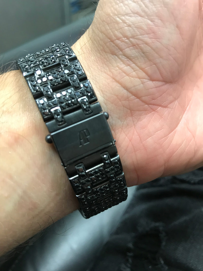 Black PVD coated AP offshore