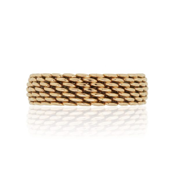 Tiffany & Co. 18k Rose Gold Somerset Ring