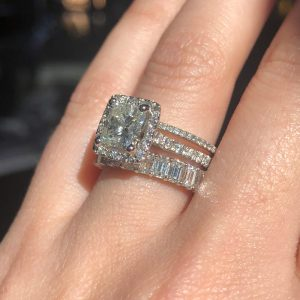 why stacked wedding rings