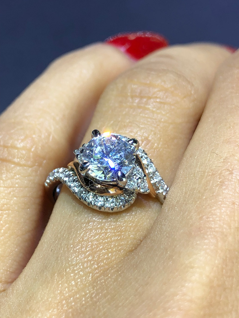 Top 10 Diamond Engagement Rings For Under 3000
