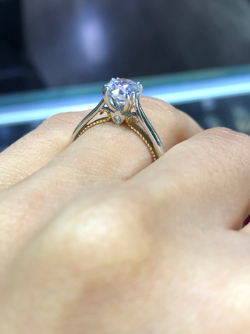 $3000 solitaire engagement ring