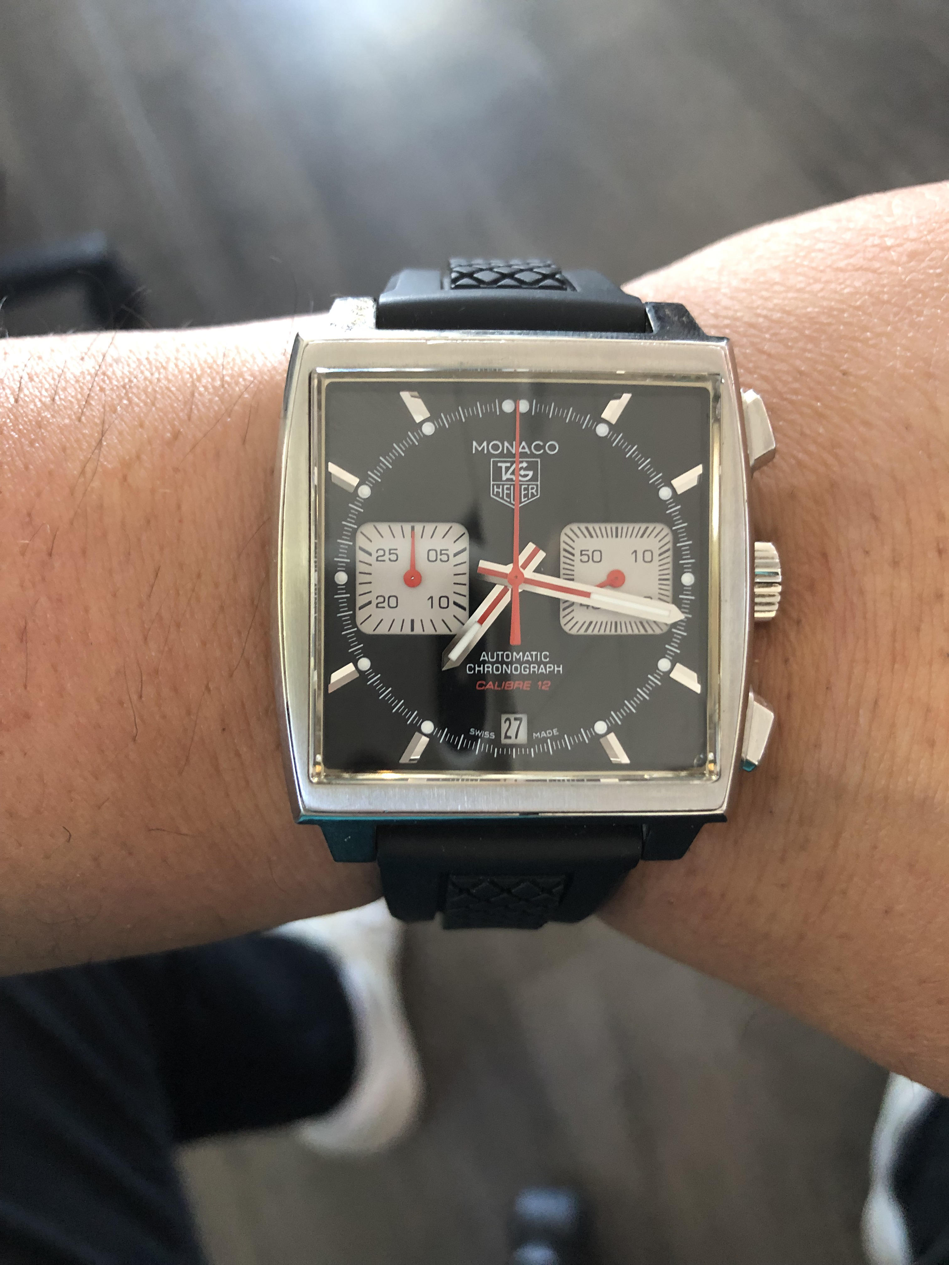 d91d5dd495212 TAG Heuer Monaco Watch Review - Steve McQueen s Iconic Style ...