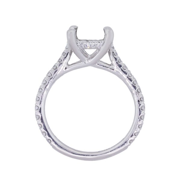 gabriel and company platinum engagement ring
