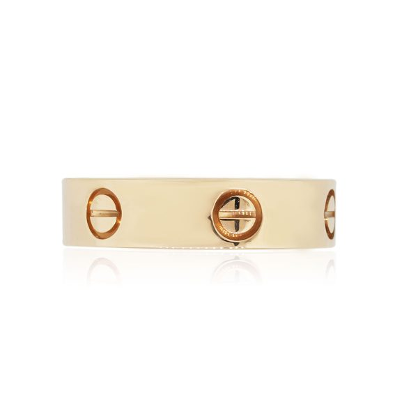 Cartier 18k Rose Gold Size 60 Love Ring