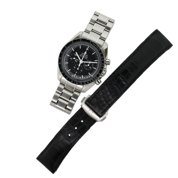 Omega watch with extra strap