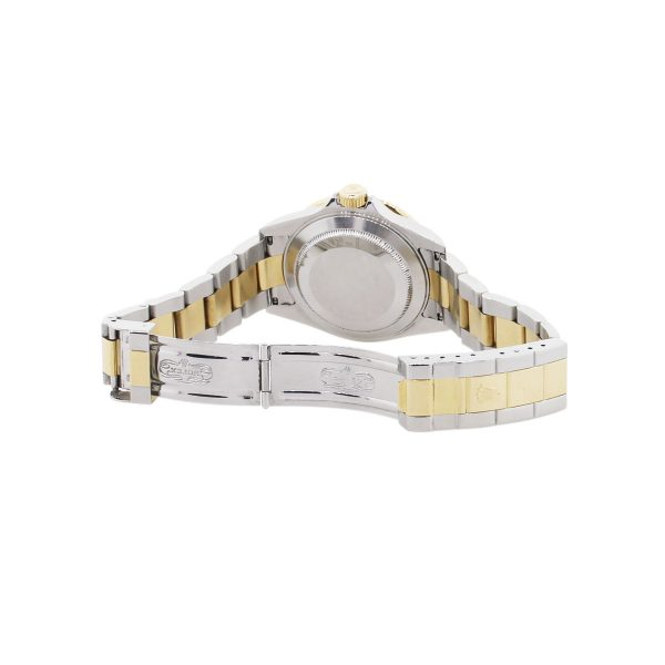 stainless steel and 18k yellow gold watch