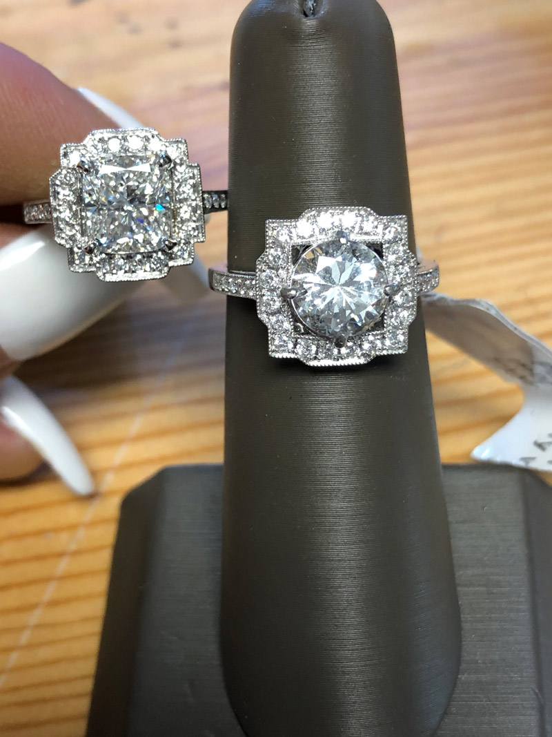 redesigned rings before and after