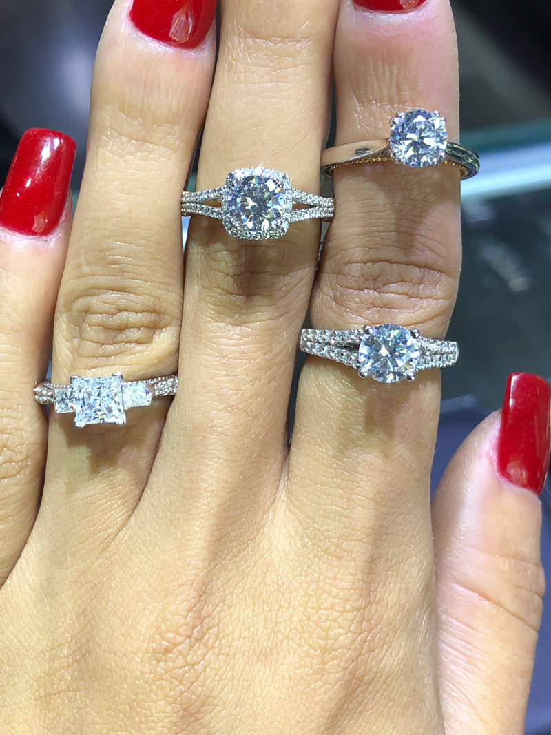 what does a 3000 dollar engagement ring look like