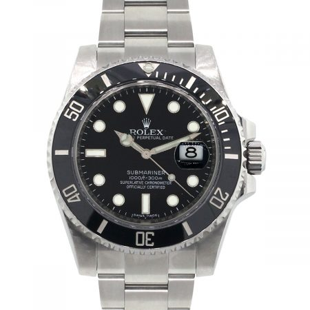 Rolex 116610LN Submariner Ceramic Black Bezel Black Dial Stainless Steel Watch