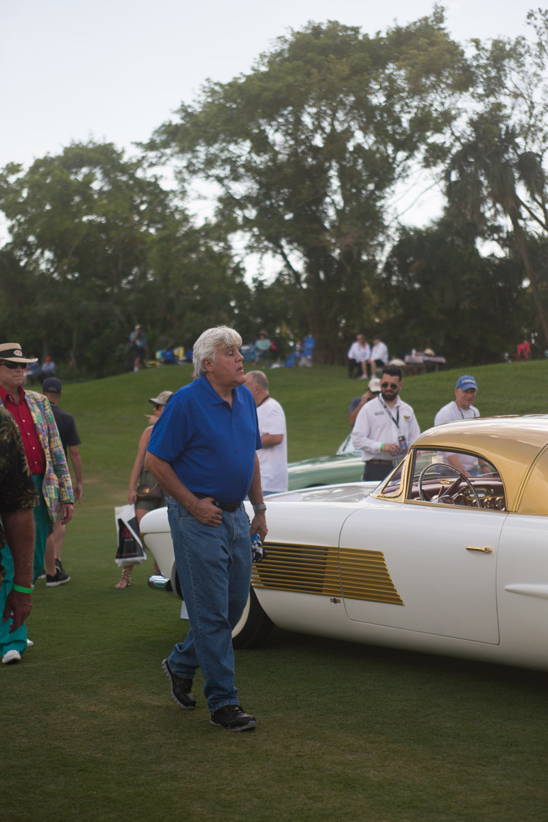 jay leno car show florida