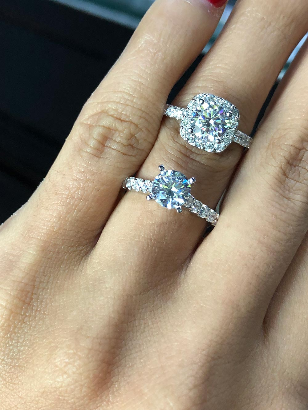 pros and cons of halo engagement rings