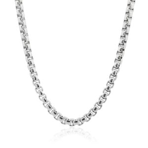 "David Yurman Sterling Silver 22"" Extra Large Chain Necklace"