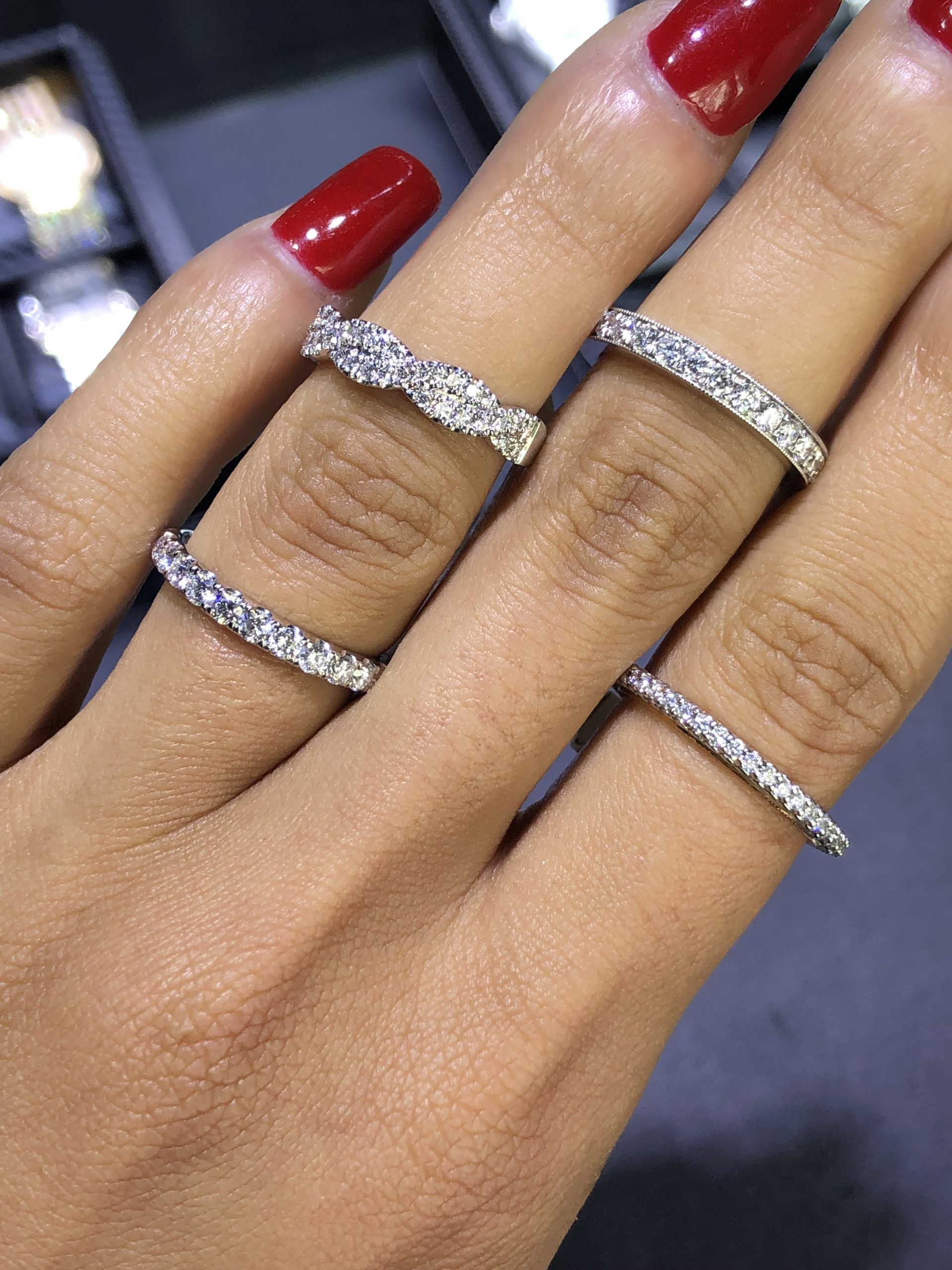 diamond bands for your wedding