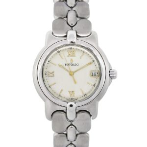 Bertolucci 123 41-77798 Pulchra Sterling Silver Mid Size Ladies Watch