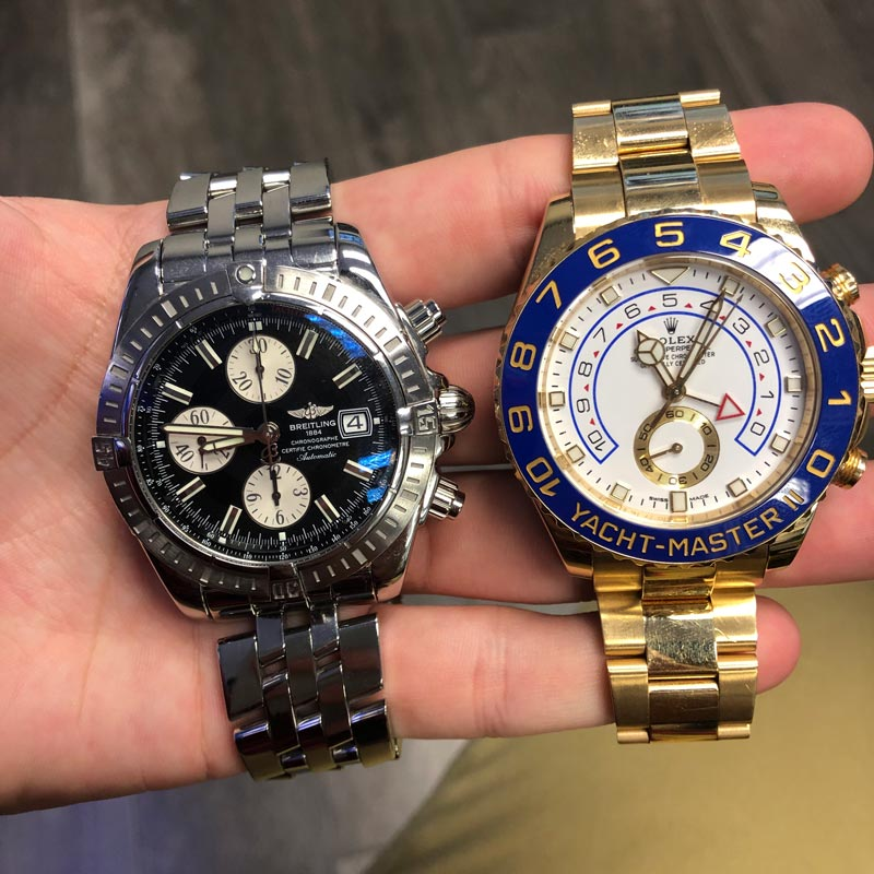 Rolex Vs Breitling Comparison Battle Of The Luxury Watches