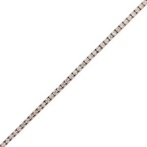 14k Rose Gold 2.50ctw Diamond Tennis Bracelet