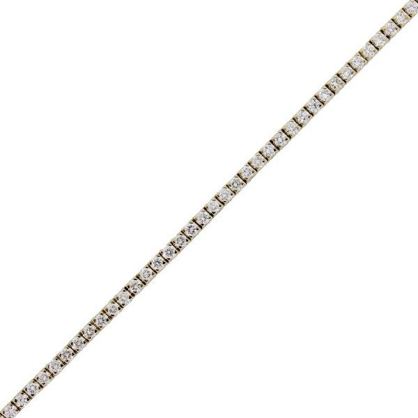 14k Yellow Gold 2.50ctw Diamond Tennis Bracelet