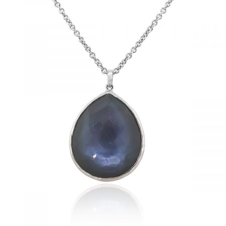 Ippolita Sterling Silver Blue Lapis Mother Of Pearl Necklace