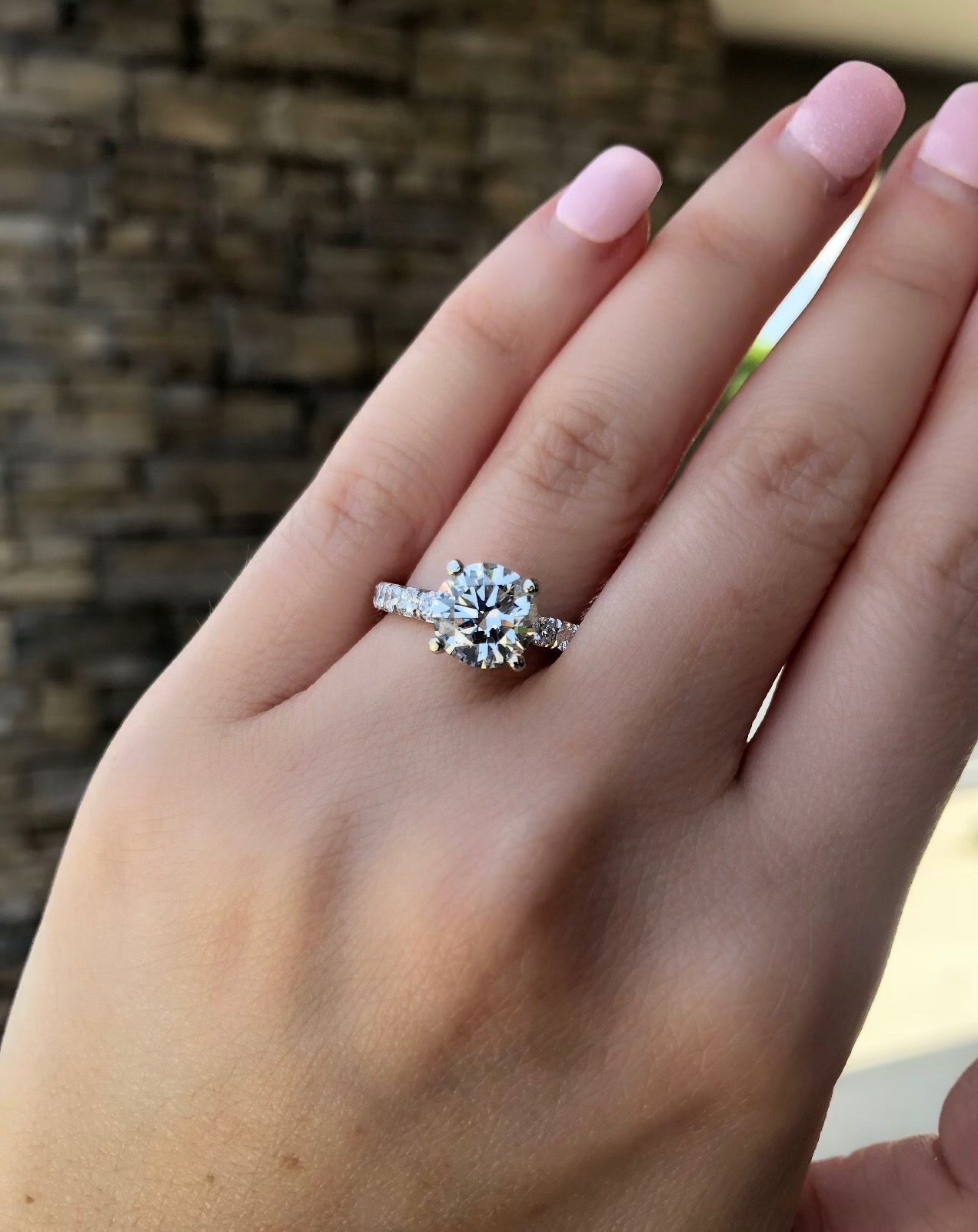 engagement rings solitaire diamond