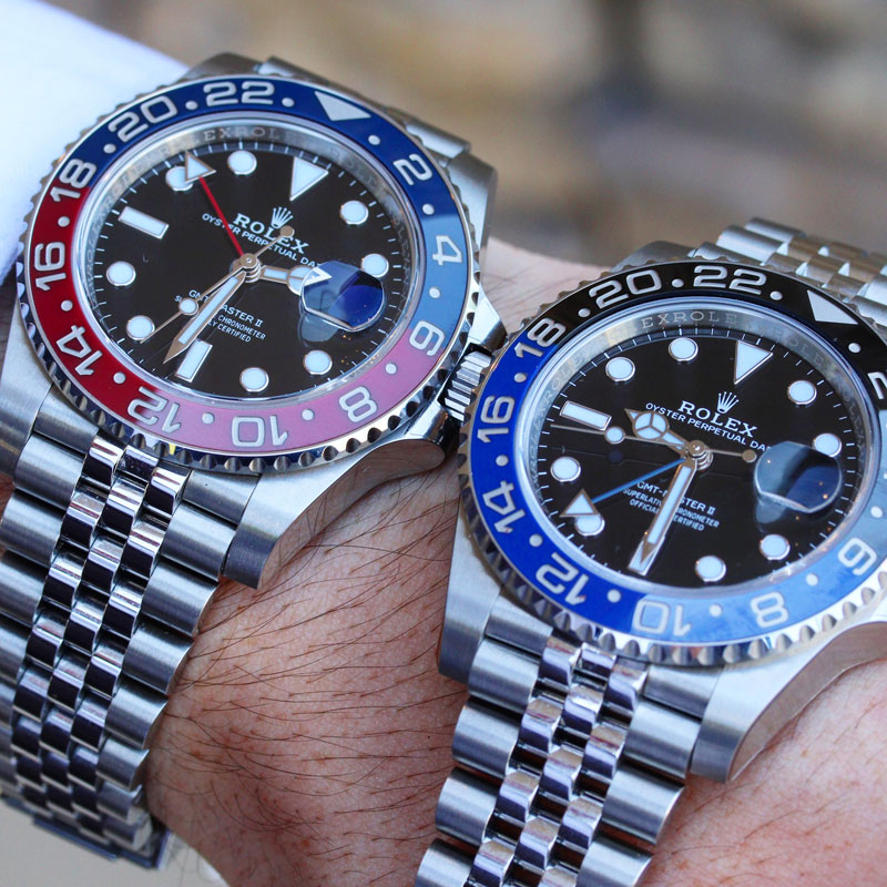 New Rolex Batman vs Pepsi Comparison