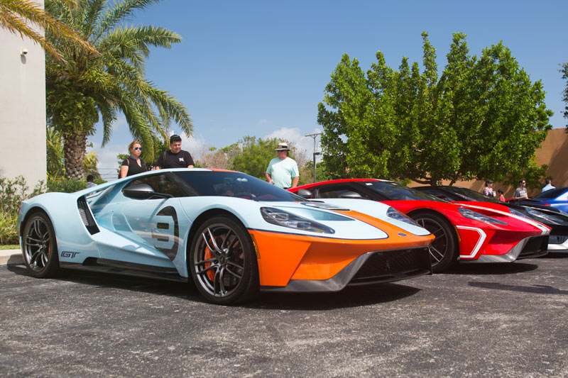 Ford GT Heritages editions